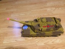 Military War Tank Electronic Sounds Moves Light , Toys R Us in Lockport, Illinois