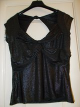 Ladies Top size 10 River Island Black Sparkle in Cambridge, UK