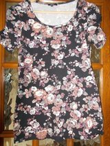 Ladies Top size 12 by Papaya black floral in Cambridge, UK