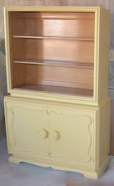 Yellow China  cabinets dishes or linens sale 210.00 in Morris, Illinois