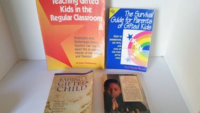 set of 4 books on raising the Gifted Child in Naperville, Illinois