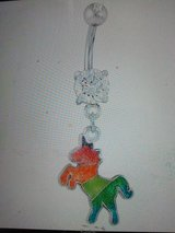 rainbow unicorn belly ring in Camp Lejeune, North Carolina