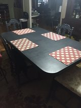 Duncan Phyfe dining table with 4 chairs in Camp Lejeune, North Carolina