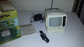 Olympia portable black and white CAMPING TV in Fort Leonard Wood, Missouri