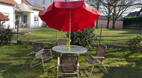 ** Patio Set with Umbrella ** in Ramstein, Germany
