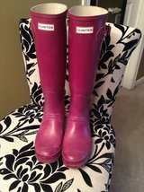 Hunter boots size 9 in Elgin, Illinois