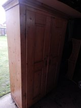 Large antique country pine cupboard in Lakenheath, UK