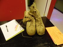 Tan boots 11W in Fort Campbell, Kentucky