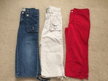 LIKE NEW 7/8 & 10 Girls Capris Pants in Plainfield, Illinois