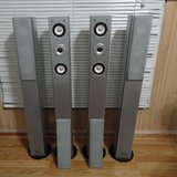 Theater innovations 4PCS 3 Way Powerful Speakers System in Bolingbrook, Illinois