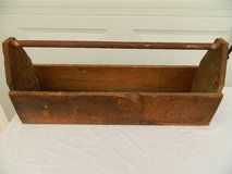 Antique Wooden Tool Box in Camp Lejeune, North Carolina