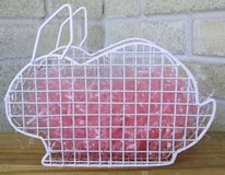 Bunny Shaped Wire Decor in Spring, Texas