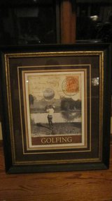 Golfing  picture frame (Naperville) in Joliet, Illinois