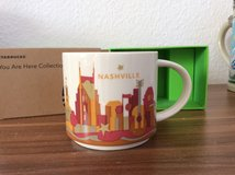 Starbucks Nashville You Are Here Coffee Cup Mug in Ramstein, Germany