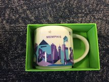 Starbucks Memphis You Are Here Coffee Mug Cup in Ramstein, Germany