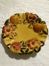 Vintage Ashtray-flower&fruit design in Fort Campbell, Kentucky