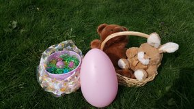 Easter basket plus extras in Fort Lewis, Washington