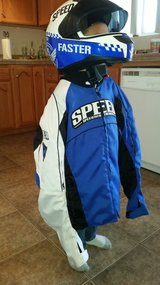sport riding Speed and strength jacket and helmet in Yucca Valley, California