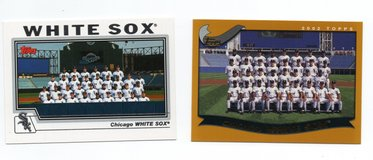CHICAGO WHITE SOX BASEBALL TEAM CARD LOT in Plainfield, Illinois