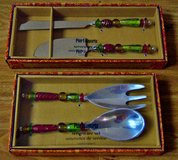 CHRISTMAS PIER 1 IMPORT LARGE SERVING UTENSILS SETS x2 in Lakenheath, UK