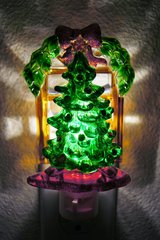 110V CHRISTMAS TREE NIGHTLIGHT in Lakenheath, UK