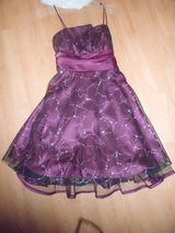 Purple with silver sparkly hearts dress in Camp Lejeune, North Carolina