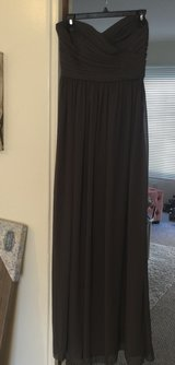 **BNWT dark gray Ball/Prom Gown SZ 8** in San Ysidro, California