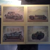 Antique car prints in Wiesbaden, GE