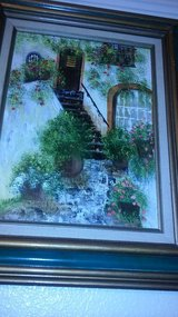 2 original unsigned oil paintings in Sacramento, California