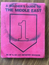 First Infantry Division Soldier's Guide to the Middle East in Batavia, Illinois