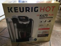 NEW Keurig Hot 2.0 K475 Single Serve PLUS Coffee Maker in Baytown, Texas