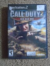 Call of Duty 2- The Big Red One-Playstation 2 in Tinley Park, Illinois