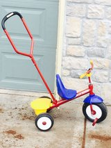 Radio Flyer Deluxe Tricycle- Steer & Stroll in Fort Leavenworth, Kansas