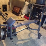 Weight Bench - Like New in Fort Leavenworth, Kansas