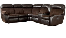 Sectional recliner with storage in San Clemente, California