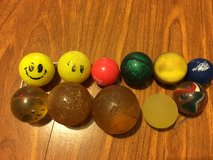 Vintage Superball High Bouncy Bounce Rubber Ball Lot of 11 in Oswego, Illinois