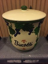 Biscotti cookie jar in Jacksonville, Florida