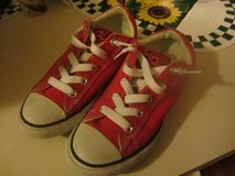 Boys Red Converse Shoes in Vista, California