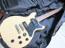 Electric Guitar Ashland by Crafter Solid Body Blonde in Houston, Texas