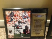 Collectible pictures of walter payton in Naperville, Illinois