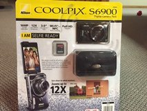 REDUCED NEW Nikon COOLPIX S6900 Digital Camera with 12x Optical Zoom and Built-In Wi-Fi (Black) in Chicago, Illinois