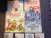 Children's books with audiocassette lot in Yorkville, Illinois