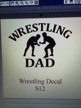 Wrestling Decal in Macon, Georgia