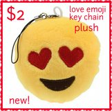 Emoji Plush Keychain in Fort Benning, Georgia
