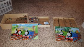 Thomas wooden puzzles. in Orland Park, Illinois