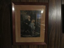 Picture of old man with young boy in Kankakee, Illinois
