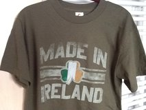 New Made in Ireland Tee- Med in Ramstein, Germany