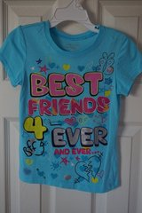 Girl's Children's Place BFF Graphic Tee XS 4 in Naperville, Illinois