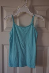 Girls Children's Place Teal Spaghetti Tank XS 4 in Naperville, Illinois