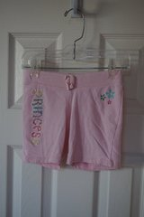 Girls Jumping Bean Pink Princess Comfy Shorts Size 4 in Naperville, Illinois